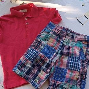 Boys preppy summer outfit